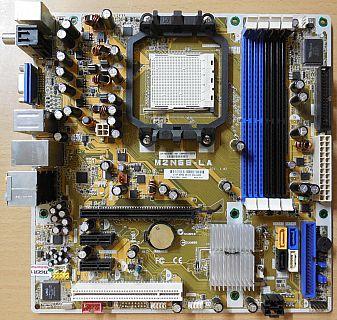Asus M2N68-LA Rev 3.02 Mainboard +Blende Sockel AM2+ HP Narra3 5189-1661* m755