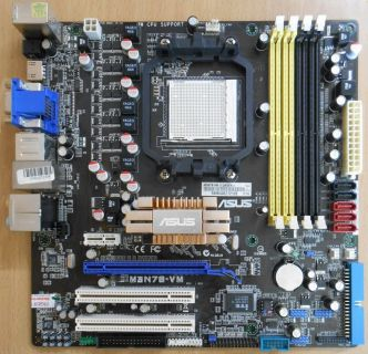 Asus M3N78-VM Rev1.02G Mainboard +Blende AMD Sockel AM2+ AM2 DDR2 VGA HDMI* m756