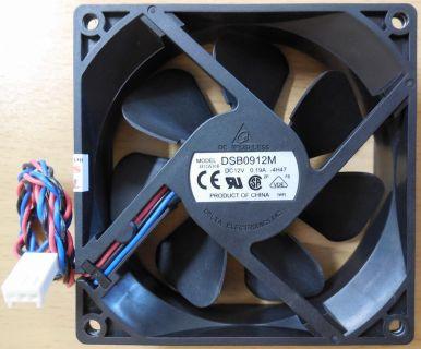 Delta Electronics DSB0912M 3-pol 92mm DC 12V 0.19A Gehäuselüfter Fan* GL74