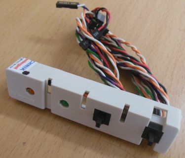 Power Reset Schalter HDD Power LED AB6-0101-C8* pz357