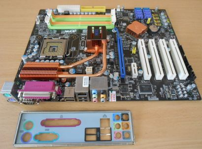 MSI P45 Neo3-FR MS-7514 Ver 1.0 Mainboard +Blende Intel P45 Sockel 775 DDR2*m764