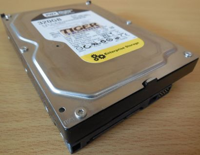 Western Digital WD RE3 WD3202ABYS-02B7A0 SATA 320GB HDD Festplatte* f630