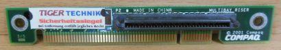 HP Compaq PCI Multibay Riser Board EVO D510 USDT* pz369
