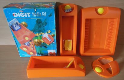 Herlitz DIGIT Media Kit Maus CD Diskettenhalter Multiorganizer 057 139-8* so685
