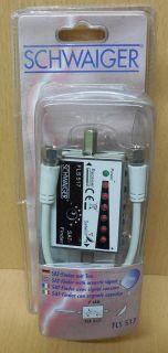 Schwaiger FLS 517 231 SAT Finder 7 LED F-Buchse F-Buchse* so670
