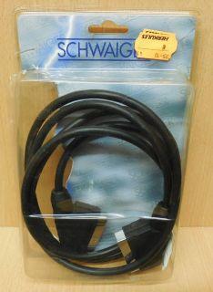 Schwaiger FLV 112 2m SCART Kabel für Video TV DVD 21-pol Verbindungskabel* so683