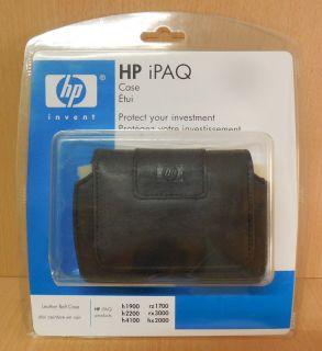 HP iPAQ Leder Gürteltasche schwarz h1900 h2200 h4100 rz1700 rx3000 hx2000* so693