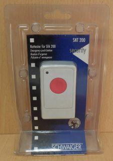 Schwaiger Security SNT 200 Nottaster für SFA 200 Handlicher Melder* so695