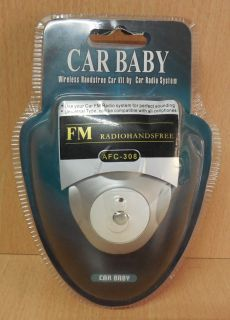 Car Baby AFC-308 Wireless Handsfree Car Kit by Car Radio System FM Radio* so696