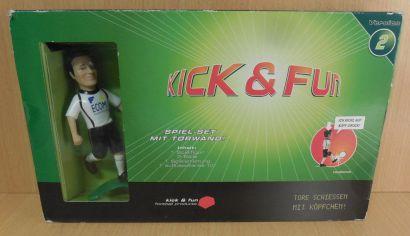 Kick & Fun Version 2 Spiel Set mit Torwand Tore schiessen mit Köpfchen* so701