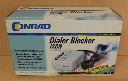 Conrad Dialer Blocker ISDN 95 50 16 zum Schutz gegen teure Nummern* so702