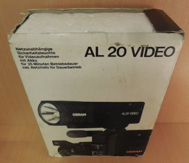 Osram AL20 Video Netzunabhängige Sicherheitsleuchte für Videoaufnahmen* so704