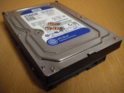 Western Digital Caviar Blue WD2500AAKX-753CA1 250GB SATA HDD Festplatte* f646
