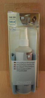 Schwaiger TVR250 031 TFT LCD PLASMA Reinigungsset Gel und Microfasertuch* So707