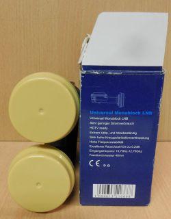 Micro Germany Universal Monoblock LNB Noise 0,2dB HDTV Ready* so716