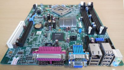 Dell Optiplex 760 SFF Mainboard 0F373D RevA00 Sockel 775 Intel Q43 PCIe VGA*m773