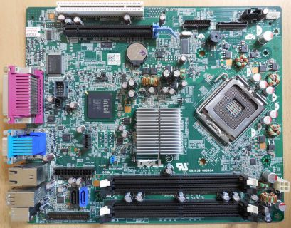 Dell Optiplex 760 SFF Mainboard 0F373D RevA00 Sockel 775 Intel Q43 PCIe VGA*m773