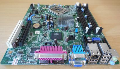 Dell Optiplex 760 SFF Mainboard 0M863N RevA01 Sockel 775 Intel Q43 PCIe VGA*m774