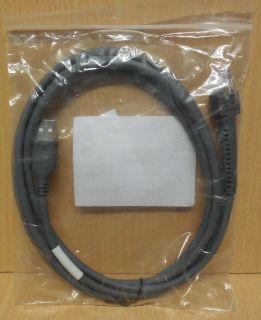 2M Kabel für Motorola Zebra Symbol Barcode Scanner CBA U01 S07ZAR LS DS* so722