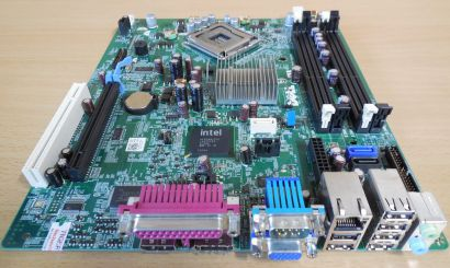 Dell Optiplex 780 SFF Mainboard 03NVJ6 RevA03 Sockel 775 Intel Q45 PCIe VGA*m778