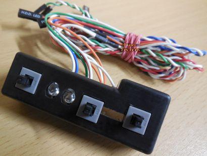 Cooler Master Power Schalter Leiste für Gehäuse *pz382