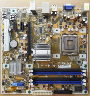 Asus IPIBL-LB Rev1.01 HP Benicia 462797-001 Mainboard+Blende Sockel 775 G33*m786