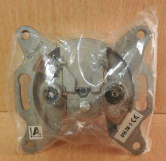 Schwaiger DSE 20 S Richtkoppler Einzeldose 8dB 2 loch Antennen Dose* So746