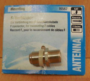 Skymaster SAT F Verbinder Doppelbuchse aus Metall hohe Qualität* so762