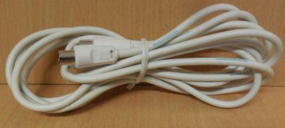 Schwaiger TV Radio SAT Antennenkabel Koax Stecker Koax Kupplung 3m weiß* so783