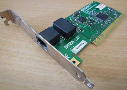 DELL Eicon Diva ISDN 2.02 PCI Karte ASSY800-675-03 & 800-314-03* nw79