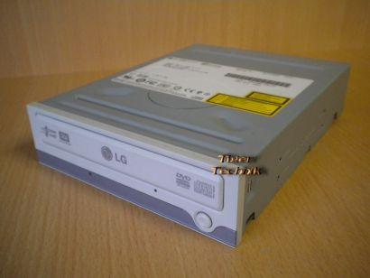LG HL Data Storage GSA-4081B Super Multi DVD Brenner ATAPI IDE silber weiß* L382