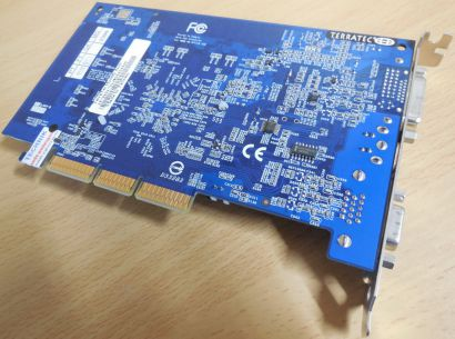 TeraTec Mystify 5200 GeForce FX5200 128MB AGP 8x 128 Bit DVI S-Video VGA* g343