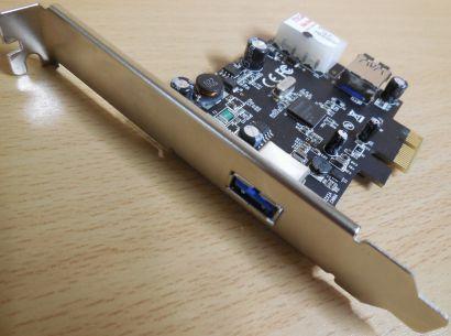Fujitsu USB 3.0 Karte 1+1 Port PCI-E x1 Sunrich U-550 S26361-D2971-A10 GS1* sk45