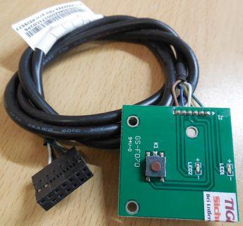 IBM Lenovo ThinkCentre M81 Power Schalter HDD LEDs GS-F070 FRU PN 45J9577* pz406