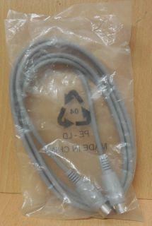 5-pin DIN Kabel grau 2m DIN Stecker 5-polig 180° DIN Stecker 5-polig 180°* so785