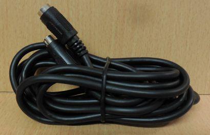 S VHS Verlängerungskabel 3m S-VHS Kabel Mini DIN Stecker Mini DIN Kupplung*so788