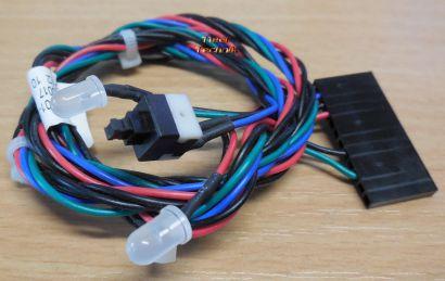 FSC Fujitsu Power Schalter mit 2 LEDs Power und HDD T26139-Y3701-V167* pz409