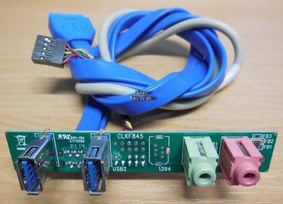 Chenbro CLKF845 Frontpanel 2x USB 3.0 und Audio* pz410