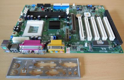 QDI Advance 10E V1.0(S1.2) Mainboard +Blende Sockel 370 P6V694X A10E 1x ISA*m794