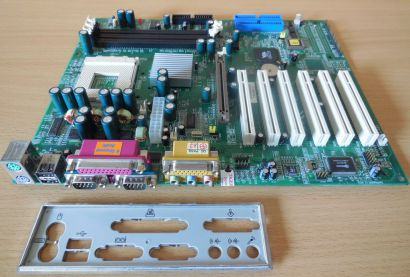 EPoX EP-8K3A Rev1.2 Mainboard+Blende Sockel A 462 VIA KT333 DDR AGP Audio* m804