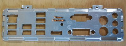 FSC Fujitsu Esprimo D2912 A12 GS1 Mainboard Blende IO-Shield Backplate* mbb06