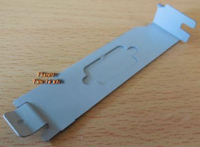 2 Stück Slotblech Slotblende Abdeckung Low Profil VGA Möglichkeit Desktop* bl58