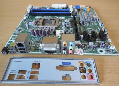 HP Cleveland GL8 636477 001 623914 IPISB-CH Rev1.04 Mainboard Sockel 1155* m807
