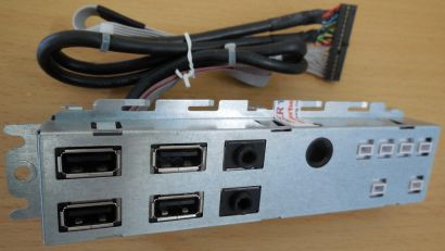DELL SFF 087G1H OPTIPLEX 990 790 Frontpanel USB AUDIO* pz417