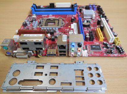 MSI MS-7634 Ver1.1 Fujitsu Esprimo P2760 D2415-A21 GS2 Intel H55 Sockel1156*m809