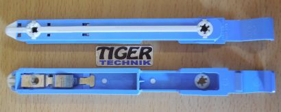 DELL W3665 W3664 21TUG PC Einbauschienen für Festplatten HDD 3,5 Blau* pz421