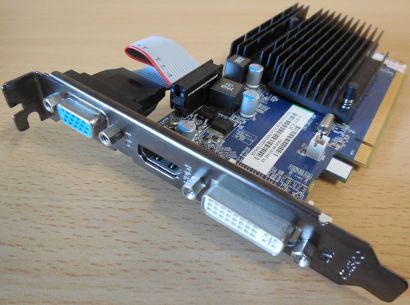 Sapphire ATI Radeon HD5450 Cedar Pro 1 GB DDR3 PCI-E 2.0 x16 HDMI DVI-I VGA*g350