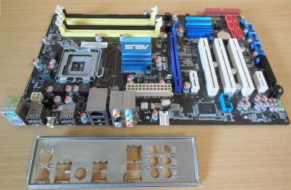 Asus P5QL Pro Rev1.00G Mainboard Sockel 775 Intel P43 6xSATA PCIe DDR2 GLAN*m814