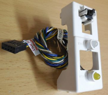 Packard Bell PN-P69022901002003.34 Power Schalter Switch Button Power LED HDD LED* pz424