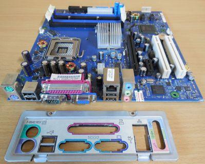 Fujitsu D2151-A11 GS5 Mainboard +Blende Sockel 775 PCIe DDR2 Esprimo P5905* m815